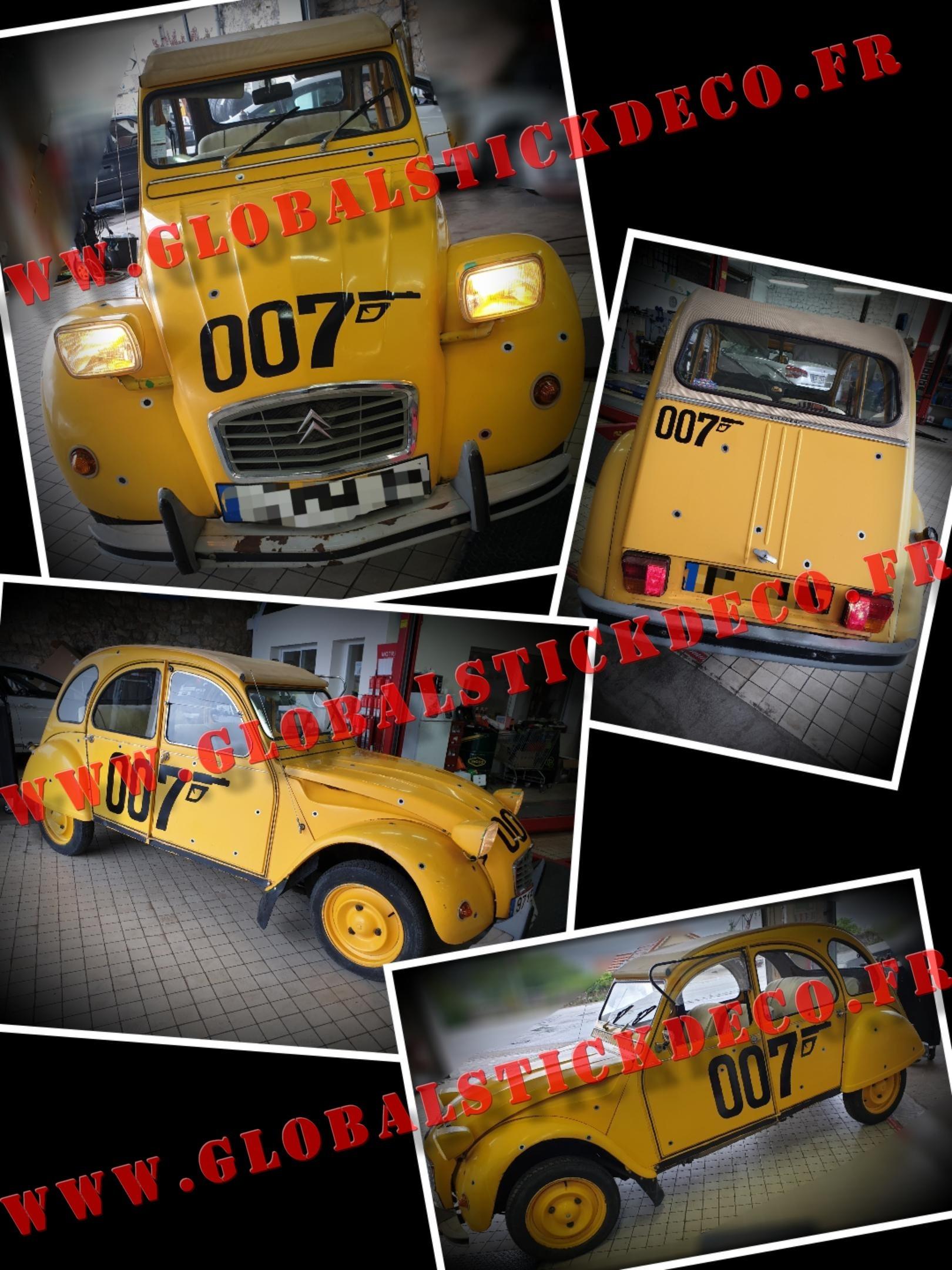 2cv 007 garage