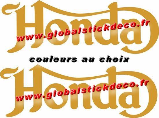 0002325 honda vintage classic cafe racer decal sticker 550