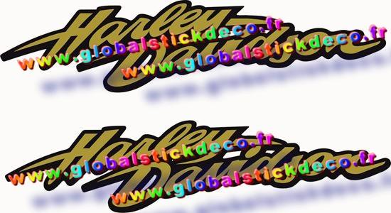 0006332 harley davidson fxd tank decals stickers 550