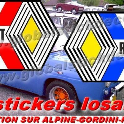 0008851 renault classic general panel decals stickers 550