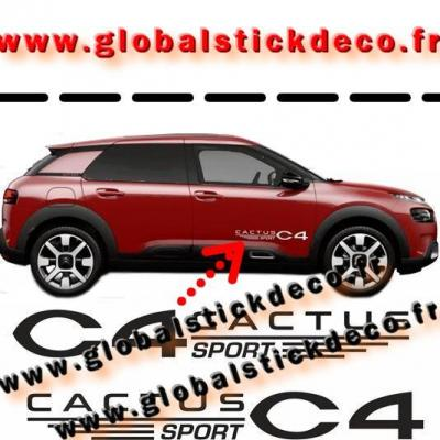 0013913 citroen cactus decals stickers 550