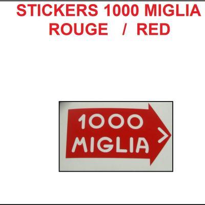 1000 miglia rouge