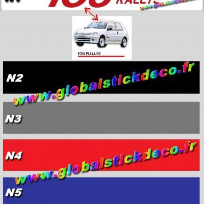 106 rallye nikel