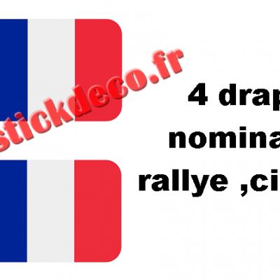 4 drapeaux