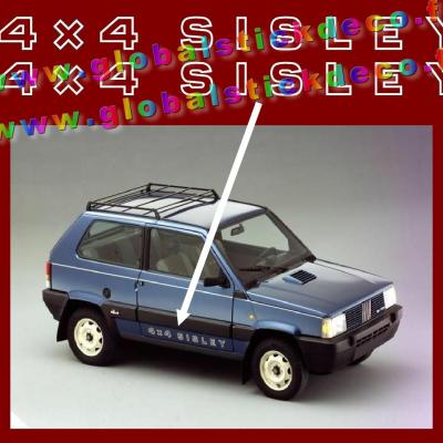 4x4 sisley