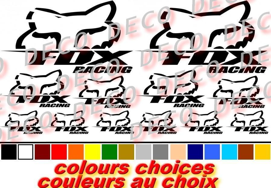 Ar kit stickers fox racing 8308 copie