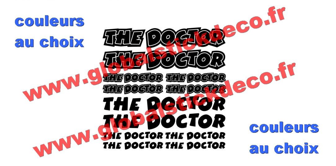 Ar kit stickers the doctor 8328
