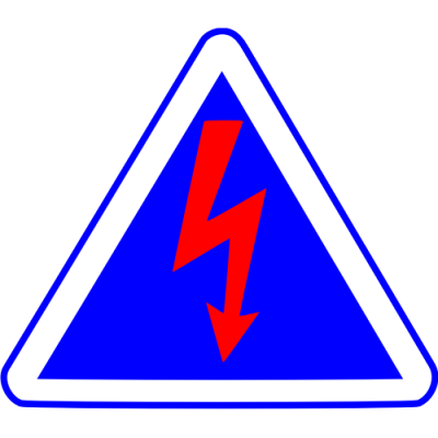 Autocollant coupe circuit 1