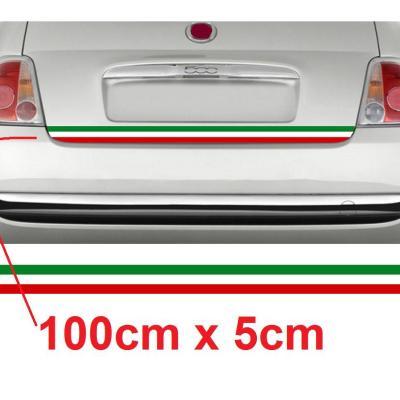 Bande italia fiat 500 1m x 5cm