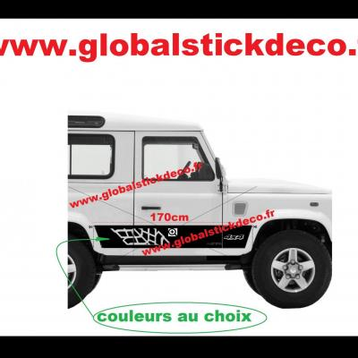 Bandes 4x4 trace global