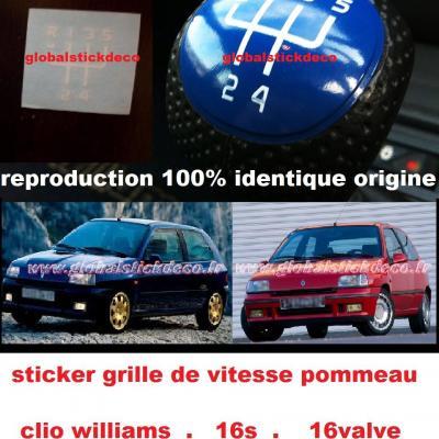 Clio williams 15