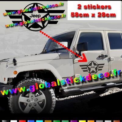 Etoile us jeep biais