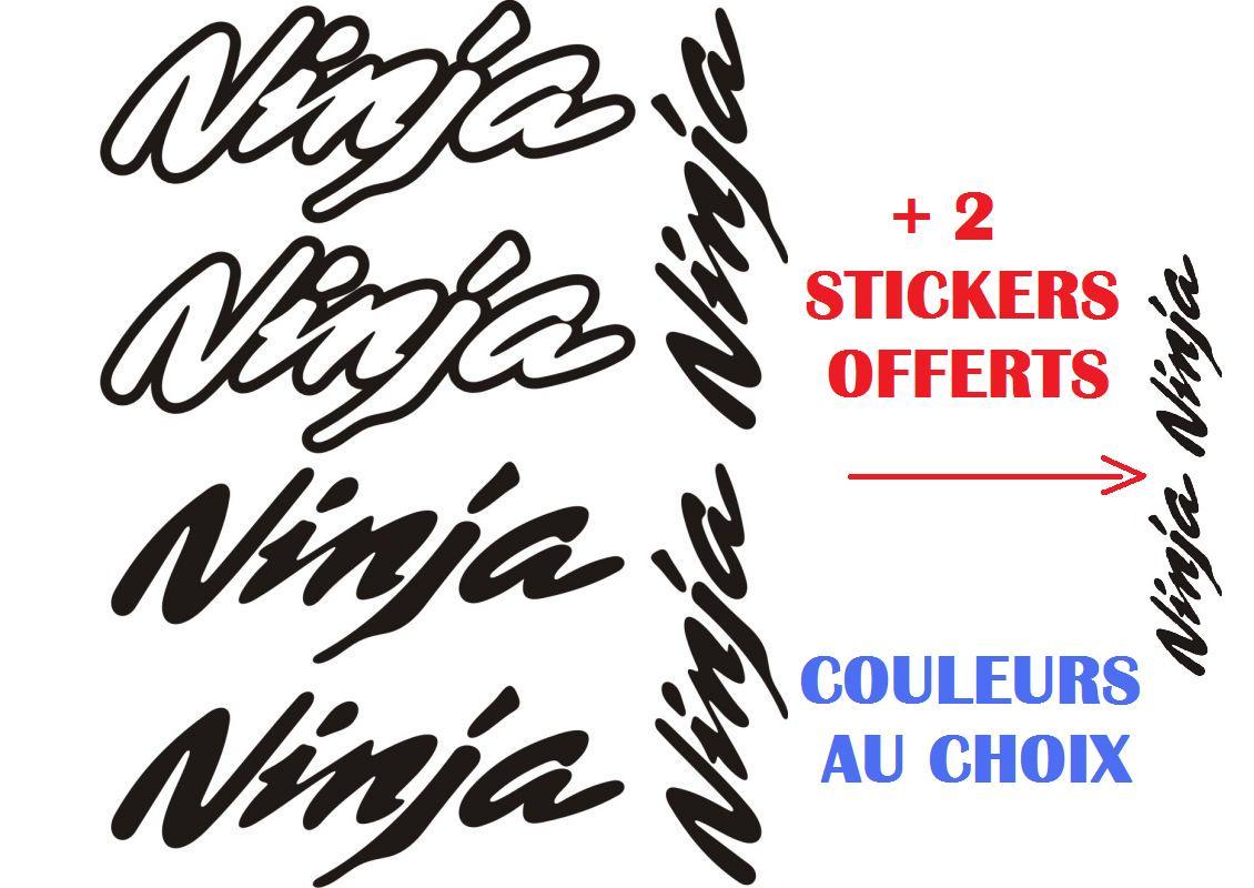 Kawasaki ninja stickers planche autocollants kawasaki 111