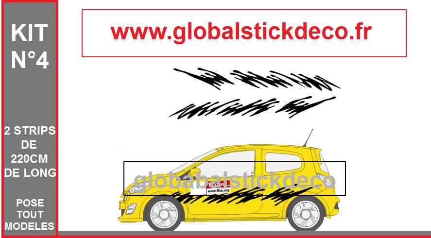 Kit deco rallye stick 1