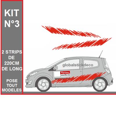 Kit deco rallye stick