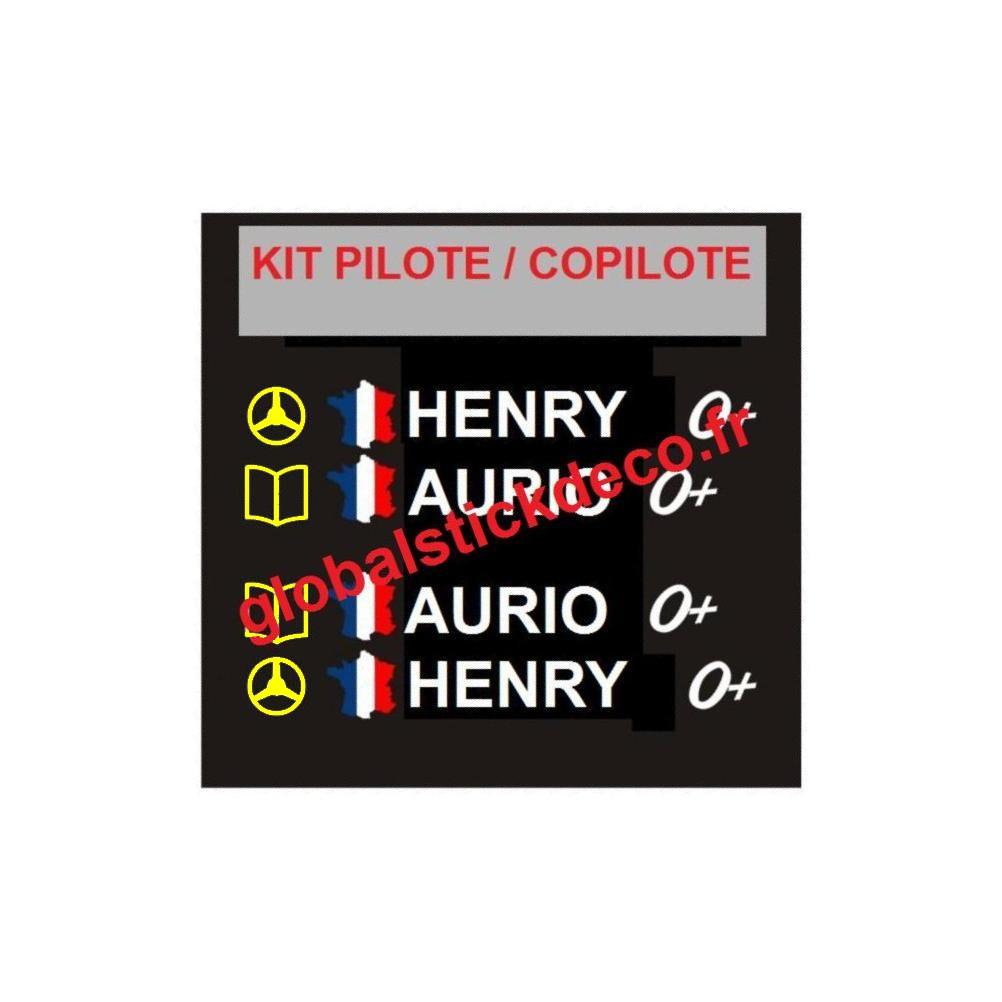 Kit pilote copilote 1