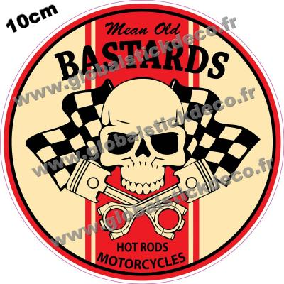 Mean old bastard decal