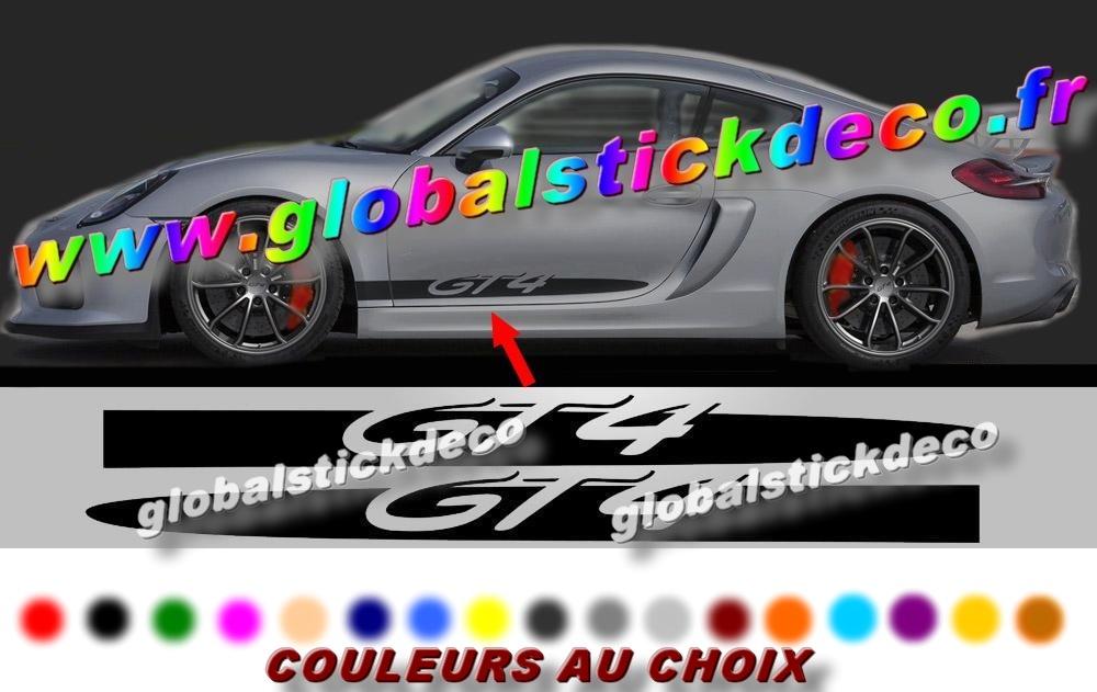 Porsche 981 gt4 side script spear decals 2048x2048