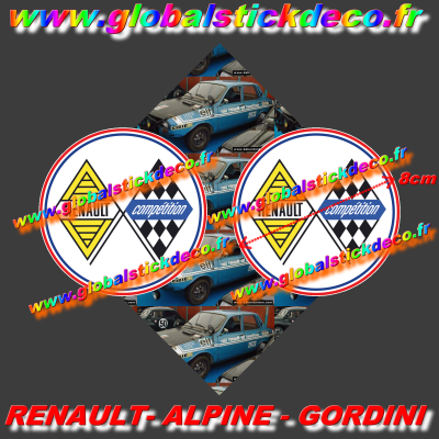 Renault compet x2 7cm