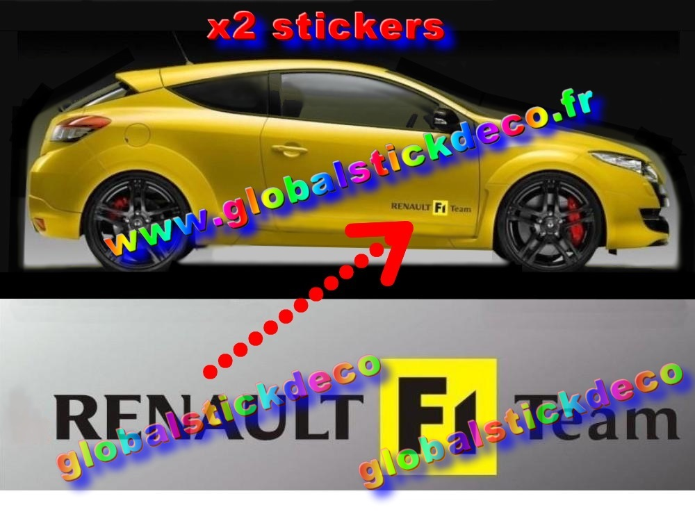 Renault f1 sport side decal set ren0008 1000x750