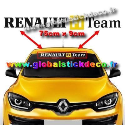 Renault f1 team pare soleil