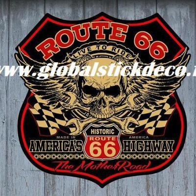 Route 66 skull higway