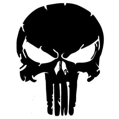 Skull punisher decoupe