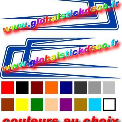 Stickers boomerang scania