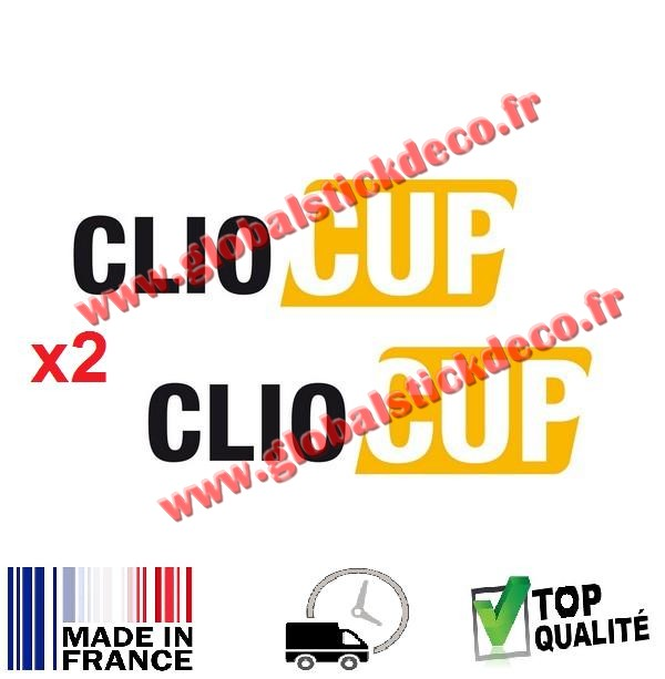 Stickers clio cup x2