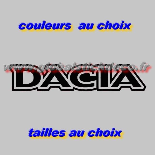 Stickers dacia