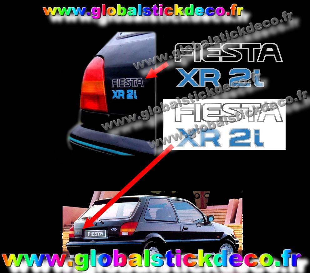 Stickers fiesta xr2i