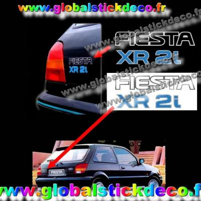 Stickers fiesta xr2i