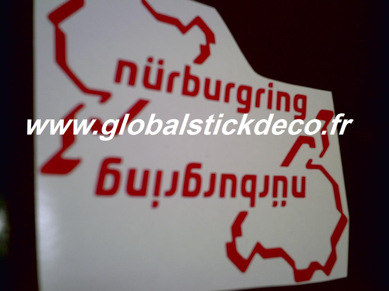 Stickers renault sport nurburgring autres 38