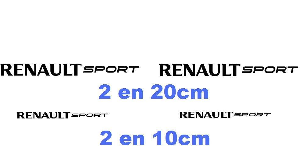 Stickers renault sport