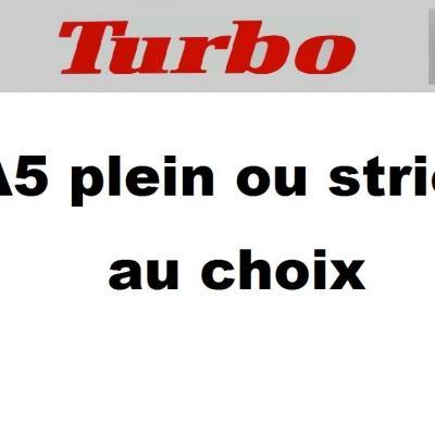 Turbo bandeau a5